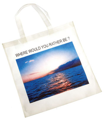 Sublimated Print on Non Woven Tote Bag