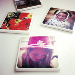 Personalised photo ceramic tiles