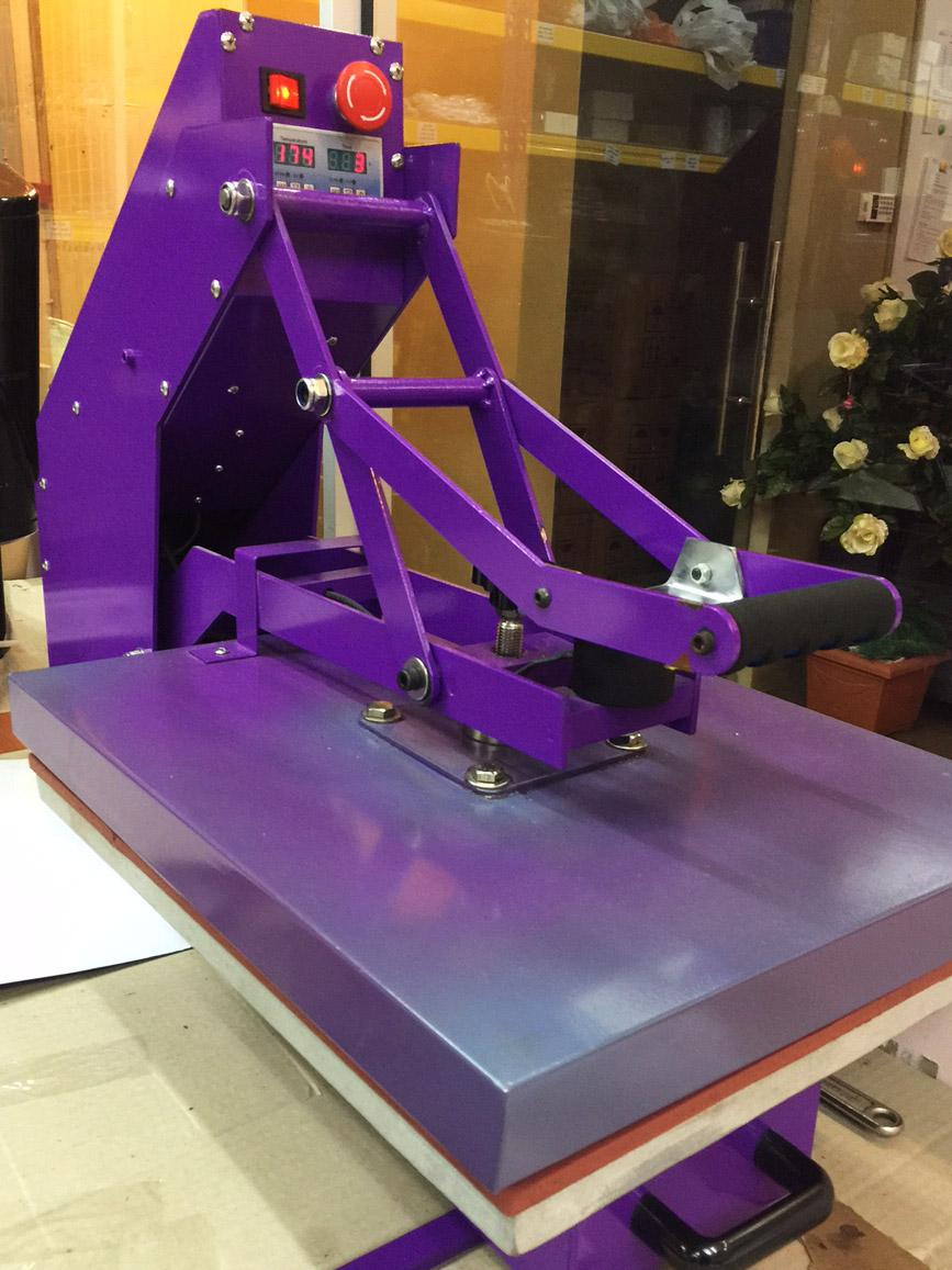 Semi Auto Heat Press Machine